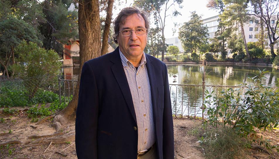 L'investigador Juan Jesús Pérez.