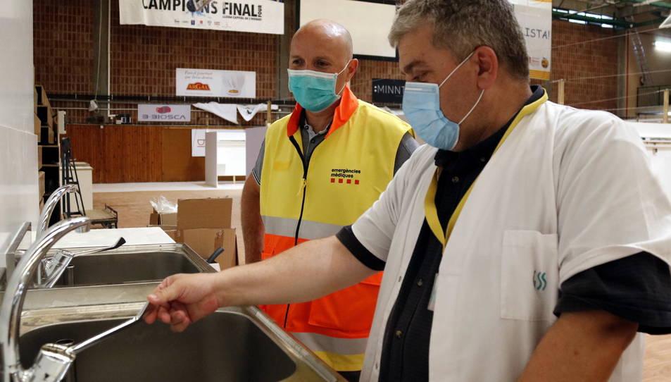 Un responsable d'infraestructures de l'ICS a Lleida.