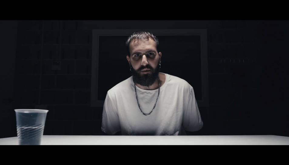 Un moment del videoclip de