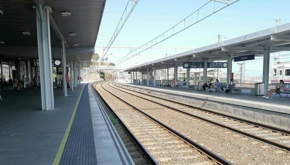 Estació de tren de Tarragona.