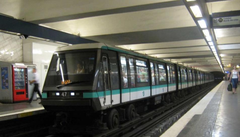 Un metro a França.