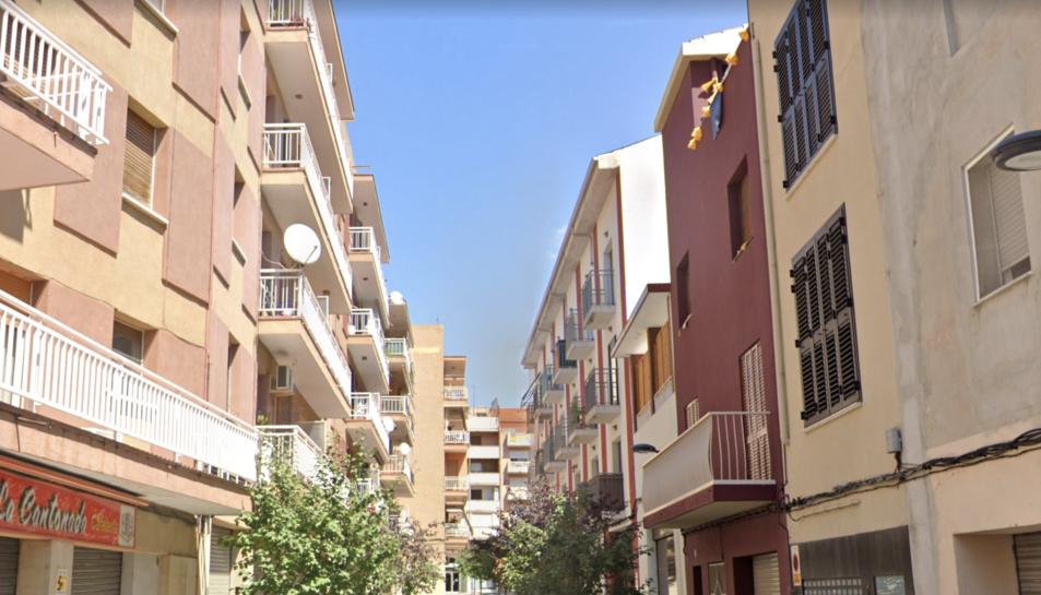 Imatge d'arxiu del carrer Paborde de Valls.