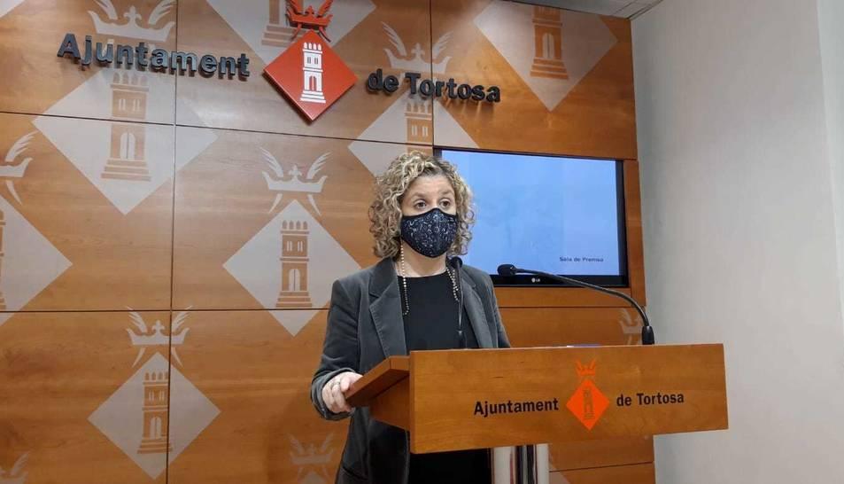 Imatge d'arxiu de l'alcaldessa, Meritxell Roigé.