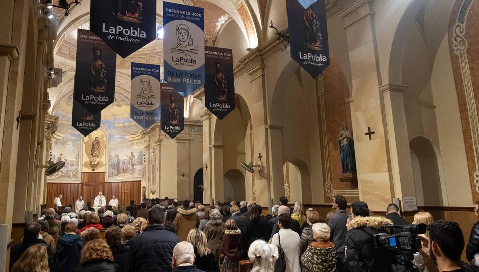 Un moment de la Missa del Lledó de l'any passat.
