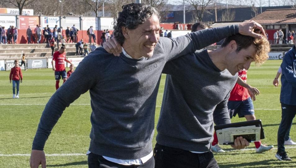 Raúl Garrido i Kevin Martínez.