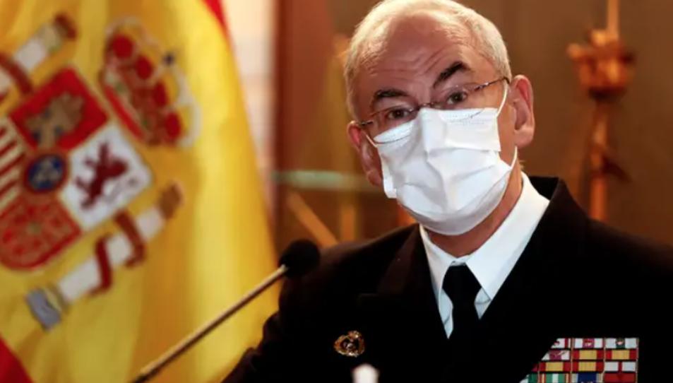 L'almirall Teodoro López Calderón.