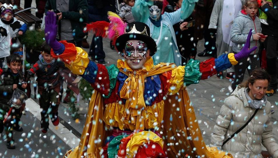 Imatge d'un Carnaval passat a Valls.