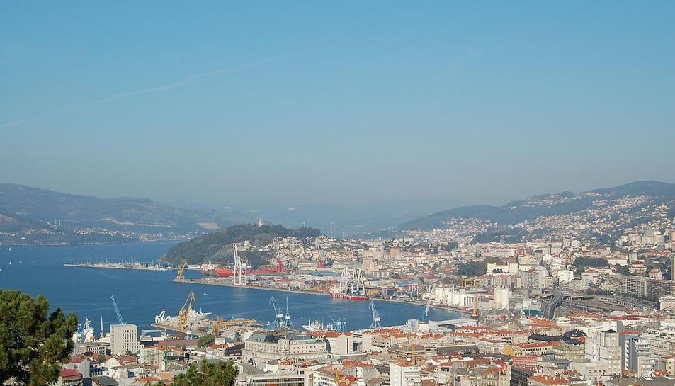 Imatge d'arxiu del port de Vigo.
