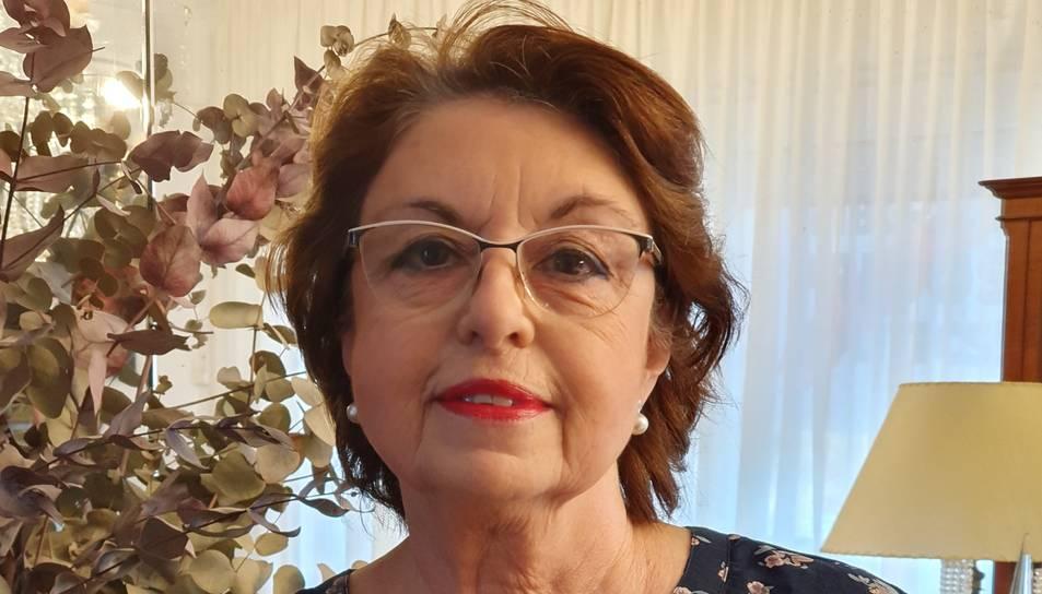 La filòloga i escriptora Maria Lluïsa Amorós.