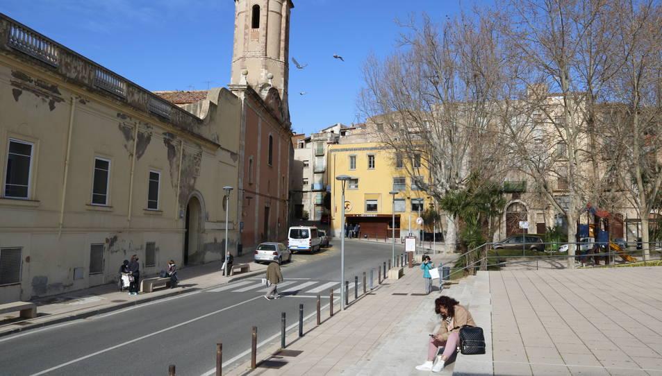 La denominada 'porta de Sant Francesc' de Valls, un espai que es vol transformar urbanísticament.