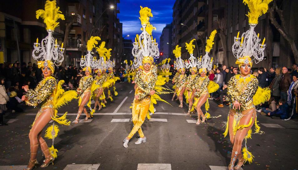 Imatge d'arxiu de la Rua de l'Artesania del 2019.