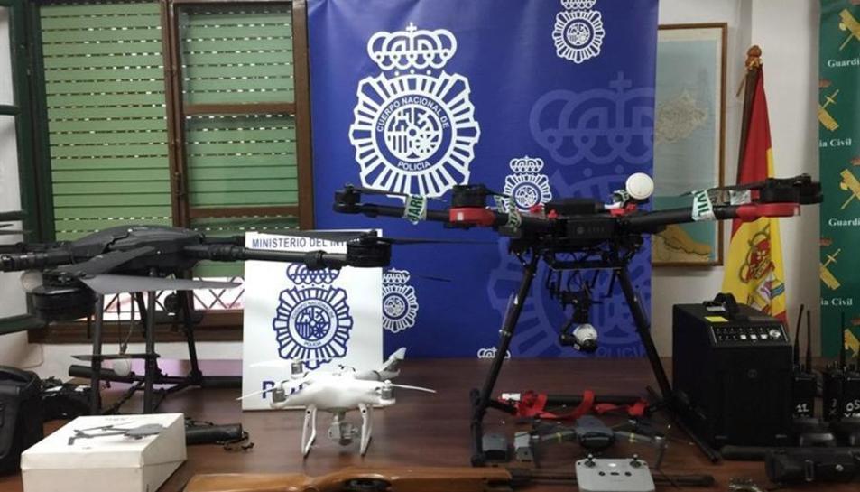 La Guàrdia Civil i la Policía Nacional de Ceuta han desenvolupat aquesta matinada una operació contra el tràfic de drogues.
