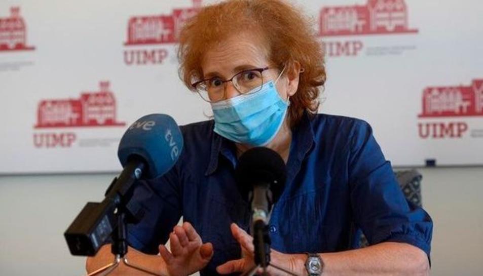 Margarita delVal en una imatge d'arxiu.