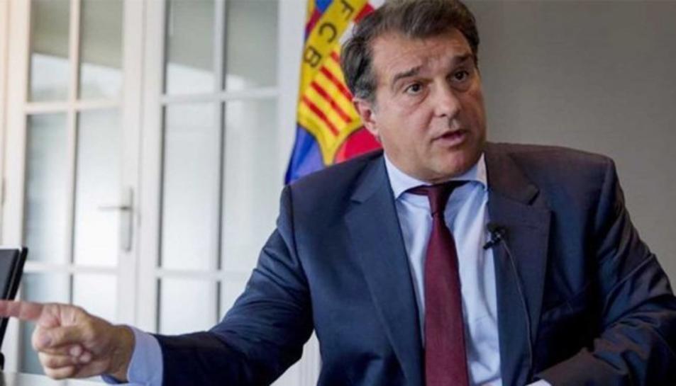 Joan Laporta, candidat a la presidència del Barça.