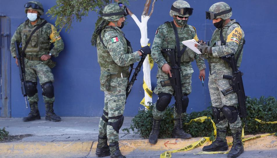 Imatge d'arxiu dels cossos de seguretat de Mèxic.