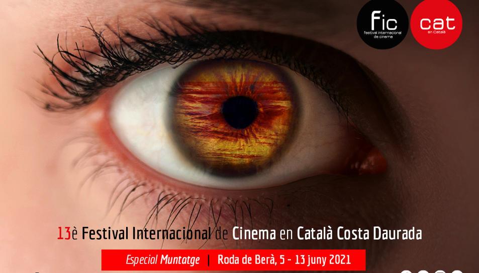 Imatge del cartell de l'edició d'enguany del FIC-CAT.