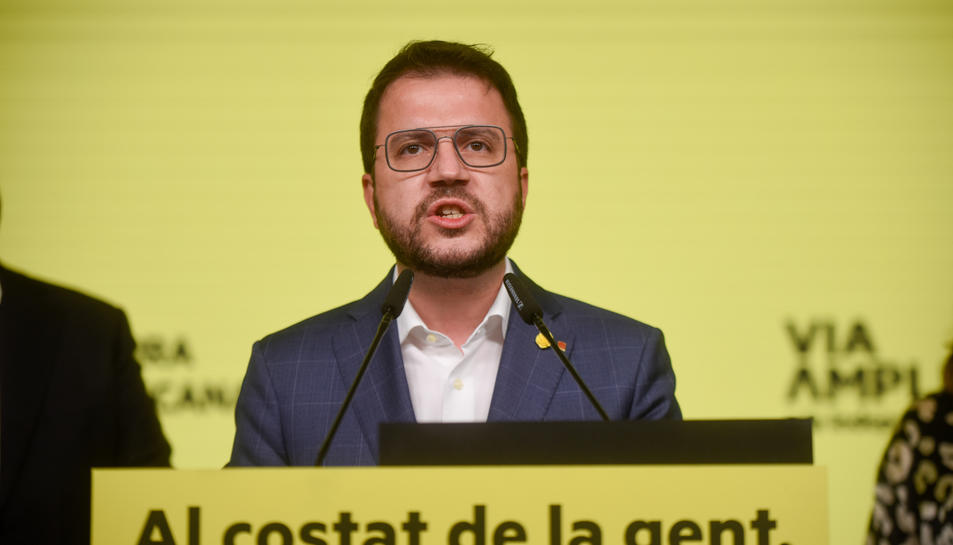 El cap de llista d'ERC a les eleccions al Parlament, Pere Aragonès