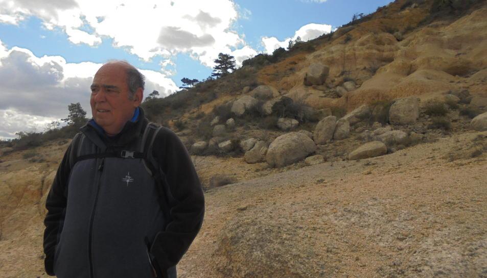 Gener Aymamí, en una imatge recent, és autor de diversos llibres sobre l'excursionisme.