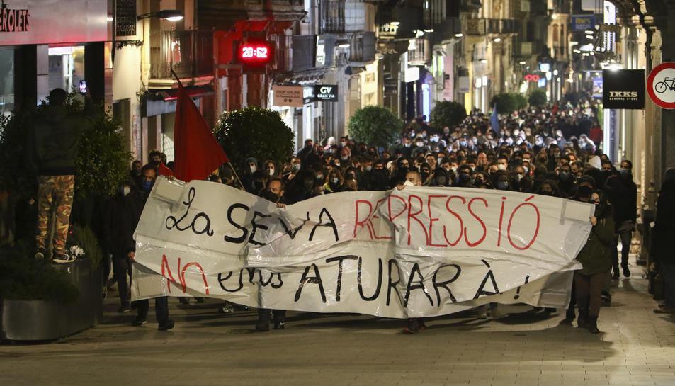 Imatge de la manifestació a Reus.