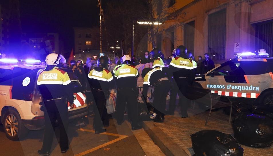 Concentració i manifestació de protesta per l'empresonament de Pablo Hasél a Reus