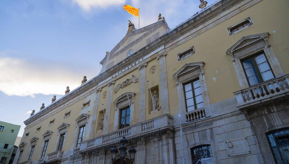 Imatge d'arxiu del Palau Municipal a la plaça de la Font de Tarragona.
