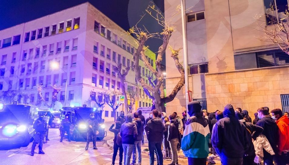 Tercera jornada de protestas en Tarragona por Hasel