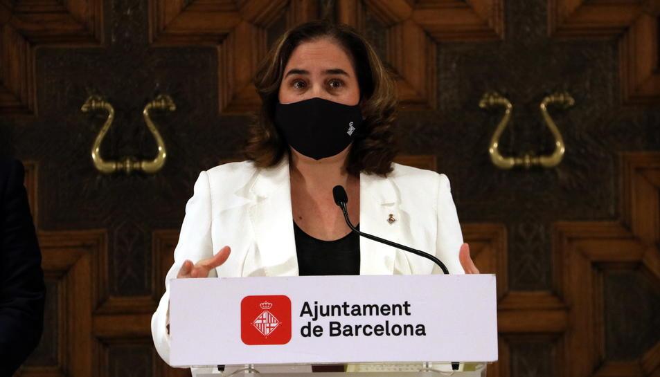 Imatge de l'alcaldessa de Barcelona, Ada Colau.
