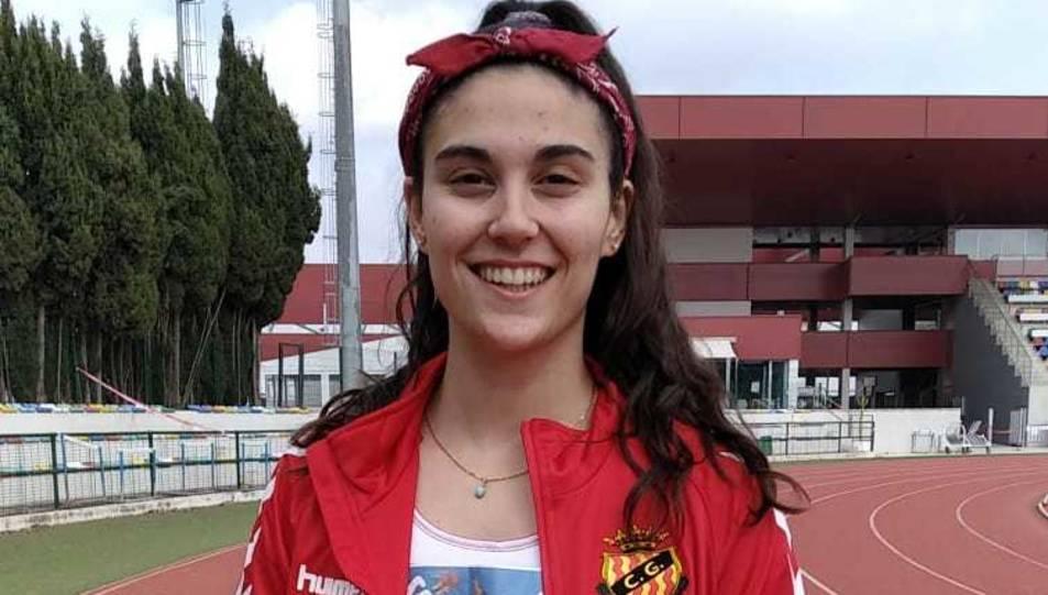 L'atleta del Nàstic Andrea Pascual.