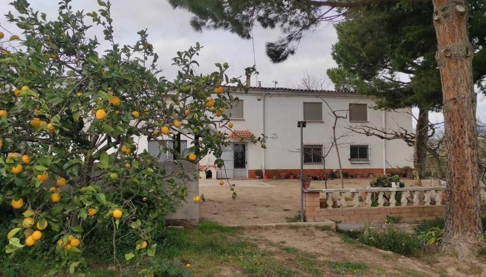 El mas de la família Prats, que el té des de l'any 1850.