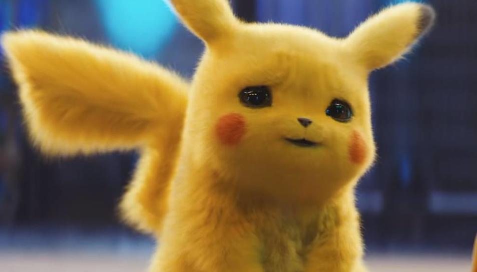 Imatge del personatge més emblemàtic de Pokémon, Pikachu.