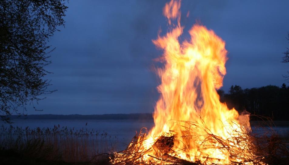 Un foc en una imatge d'arxiu.