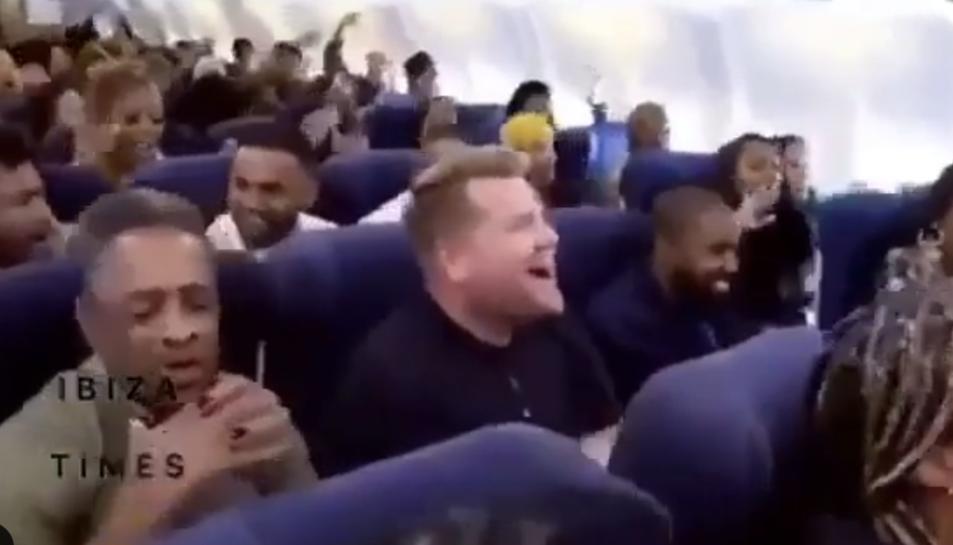 Un moment del vol.