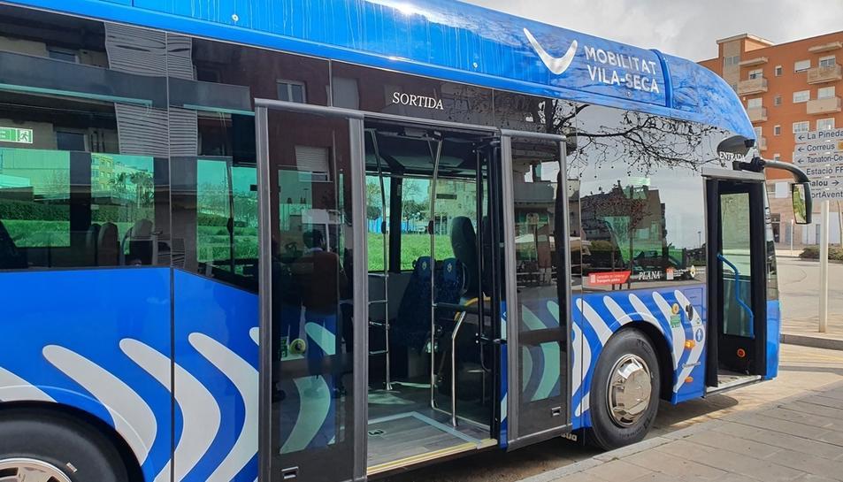 Imatge del nou autobús.