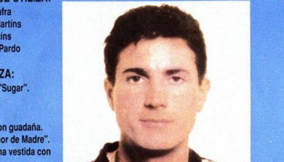 Imatge d'arxiu policial amb la cara d'Antonio Anglés MArtins.