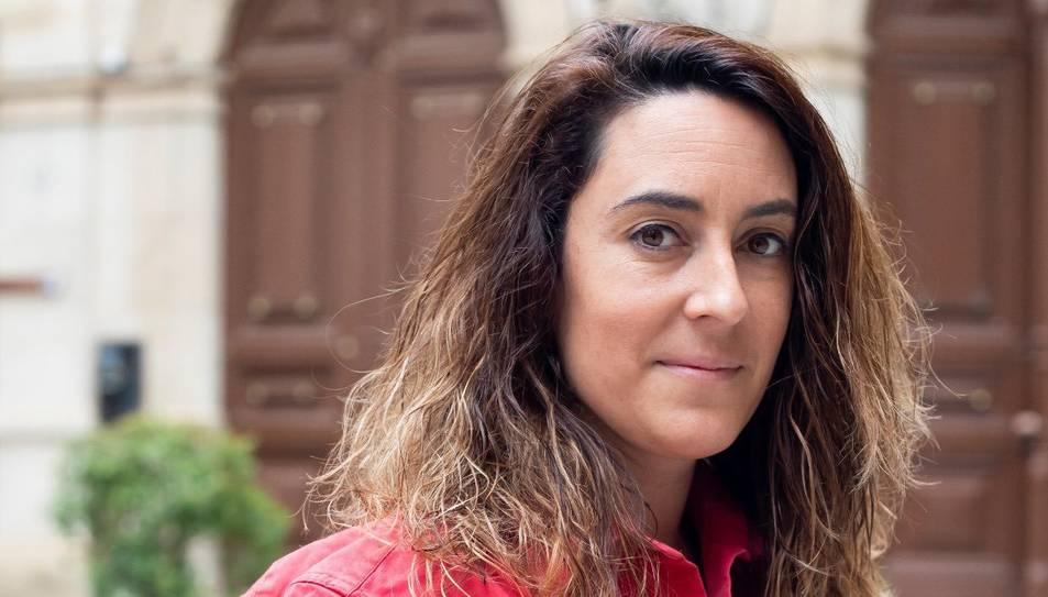 Montse Solé, nova presidente de la Colla Joves Xiquets de Valls.