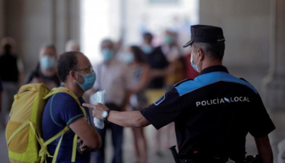 Imatge d'un Policia Local de A Coruña.