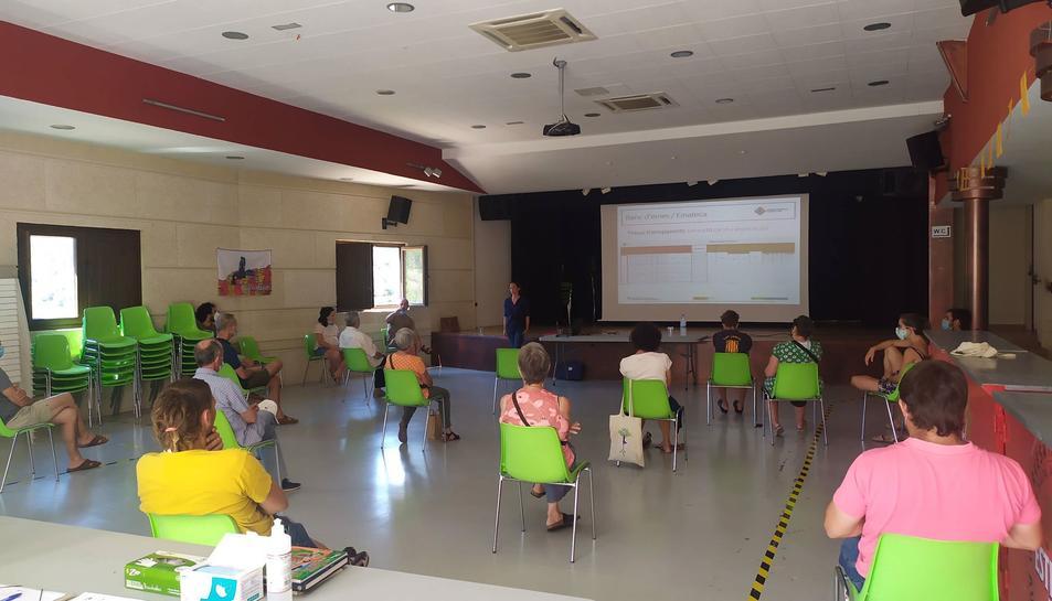 Sessió informativa a Capafonts.