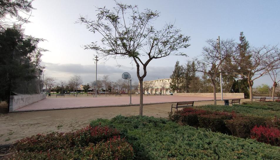 Imatge de la plaça.
