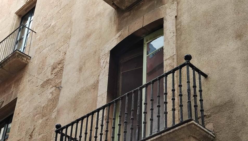 El foc s'ha produït en un habitatge del número 16 del carrer Major.