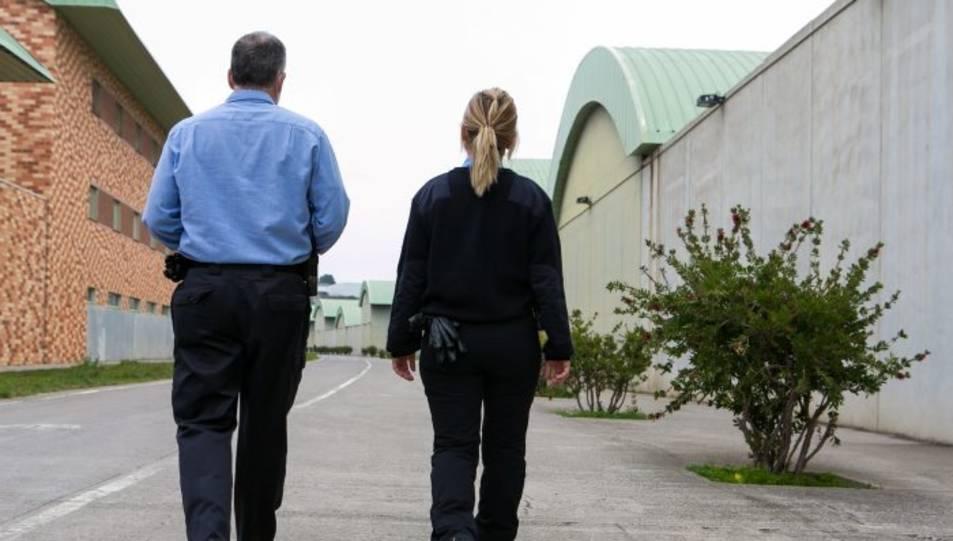 Funcionaris de vigilància penitenciària a Brians 2