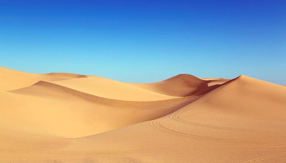 Un desert.