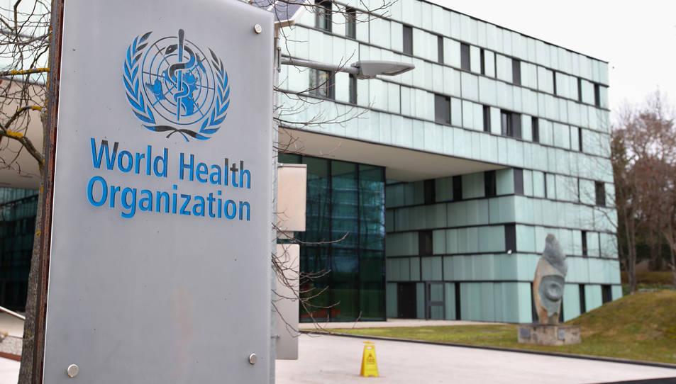 Seu de l'Organització Mundial de la Salut (OMS) a Ginebra, Suïssa.
