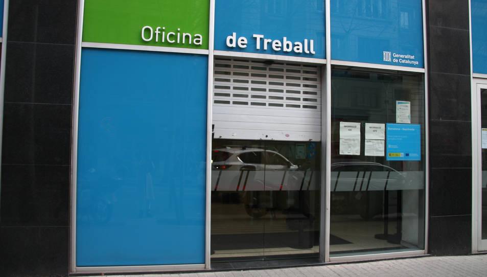 Oficines del Servei d'Ocupació de Catalunya a Barcelona.