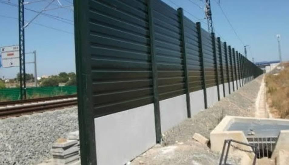 Es preveu instal·lar més de tres quilòmetres de plaques.