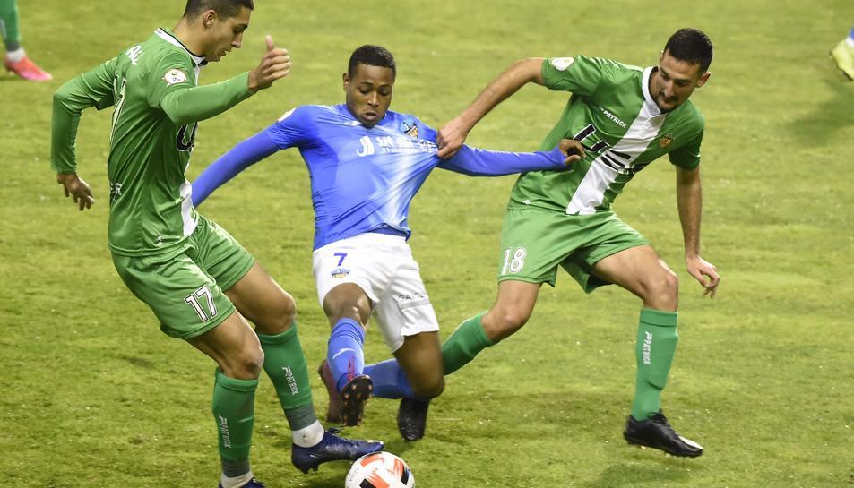 Joanet, durant un partit aquesta temporada, va ser l'autor d'un dels gols que van impedir que el Nàstic guanyés a Lleida en l'anada.