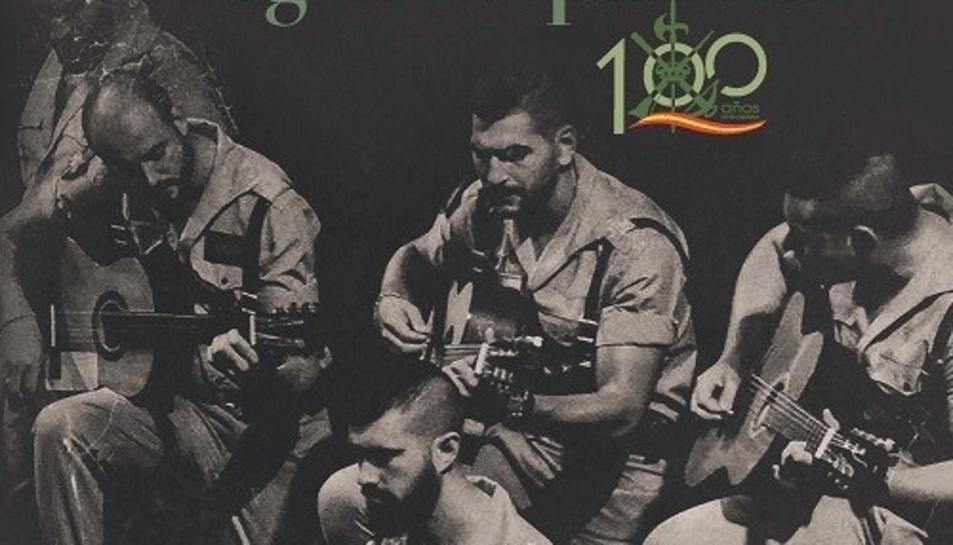 Imatge del CD amb versions flamenques de música de la Legión.