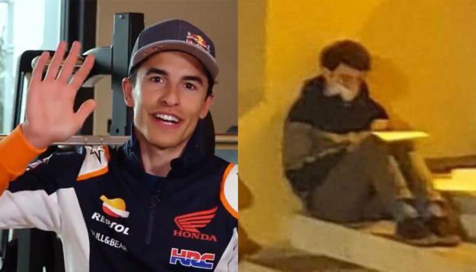 Honda l'ha convidat a veure un GP.