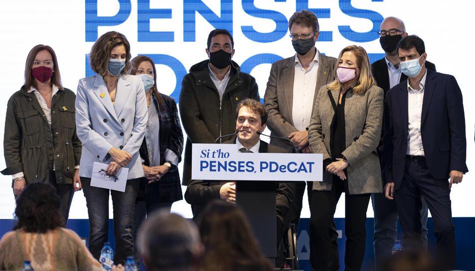 Imatge del president del PDeCAT, David Bonvehí.