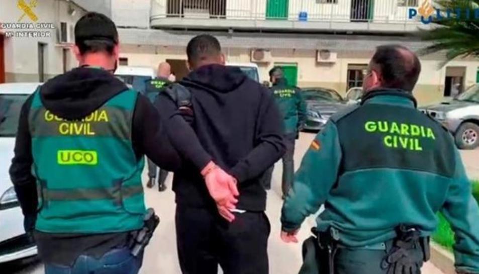 Moment de la detenció
