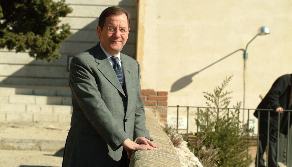Imatge d'arxiu de Albert Vallvé al 2005.
